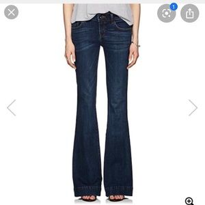 J brand Love Story Flare Jeans in Ink